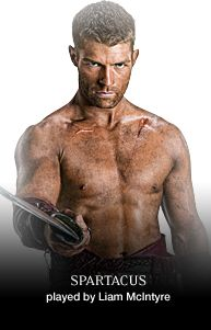 Spartacus.  Violent, erotic and often historically inaccurate but without doubt this one of the best action series on television.