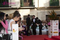 Alfombra roja Festival Cine Málaga. Alfombra roja.40ñeraslaserie