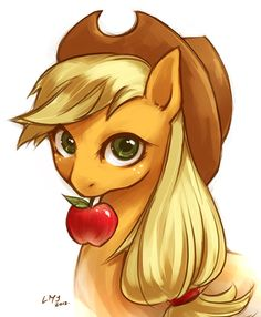 Would you like an apple? by *KatiraMoon on deviantART