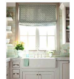 Kitchen Valances for Windows | Bathroom/kitchen window curtains