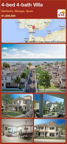 4-bed 4-bath Villa in Marbella, Malaga, Spain ►€1,200,000 #PropertyForSaleInSpain