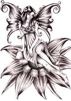 Spring Fairy. by LinnetRose on deviantART