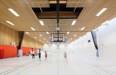 Centro sportivo scolastico in Neuves Maisons / Giovanni PACE architecte + abc-studio
