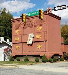 Dresser building on Hamilton Street