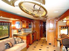 RV luxurious interior