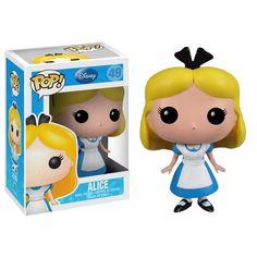 Disney Alice In Wonderland POP Alice Vinyl Figure