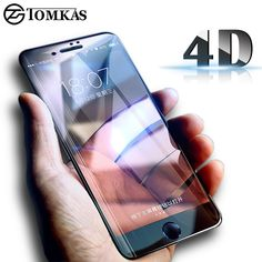 TOMKAS 4D Curved Edge Tempered Glass For iPhone 7 / 6 6s Glass HD Screen Protector Full Cover Glass For iPhone 7 6 6s Plus Film  Price: 12.95 & FREE Shipping  #cheapproducts 6s Plus, Screen Protector, Iphone 7, Free Shipping, Film, Cover, Glass, Movie, Iphone Seven