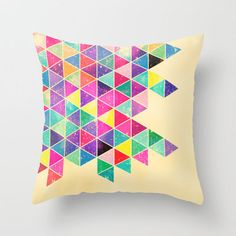 Love the neon colors in this with a white background. Great!