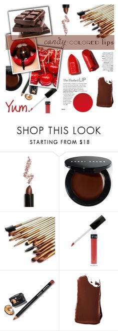 """Yum"" by fee4fashion ❤ liked on Polyvore featuring beauty, Lime Crime, Bobbi Brown Cosmetics, Smashbox and NARS Cosmetics"