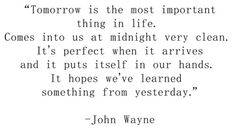 John Wayne was a smart guy