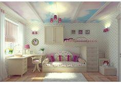 Детская в стиле прованс Как правильно оформить детскую комнату? Какие выбрать тона? Какую мебель выбрать? Ответы на эти вопросы мы обсуждаем с подписчиками на моем втором аккаунте дизайна детских комнат @baby_room_lux @baby_room_lux  А какие вы предпочитаете тона в детской комнате для маленьких принцесс?