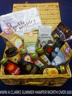 Clarks Summer Hamper Giveaway worth over £60 with Cookie Crumbles and Abra-Ca-Debroah
