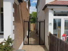 Entry, Access, Driveways - security gates are the ultimate solution to your domestic, commercial, retail & industrial applications. Security Gates, Nice Picture, Cool Pictures, New Homes, Garden, House, Safety Gates, Garten, Home