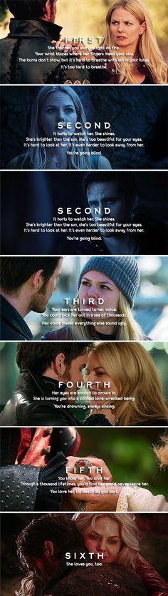 Emma Swan and Killian Jones Love Story....such a memorable love story needs rep inning