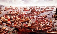 The Battle of Lepanto took place on 7 October 1571 when a fleet of the Holy League, a coalition of southern European Catholic maritime states, led by Spain decisively defeated the fleet of the Ottoman Empire on the northern edge of the Gulf of Corinth, off western Greece.