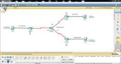 How to configure a simple static routing in packet tracer using a simple topology with two routers, manually enter network information