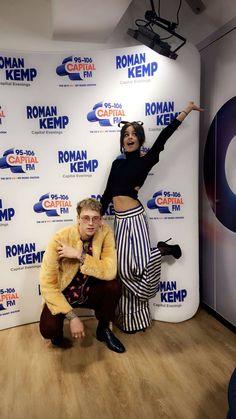 Camila Cabello with MGK in London