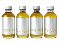 Norma Kamali Olive Oil, Paper Magazine Market Booth by Jamie Hoyt-Vitale, via Behance