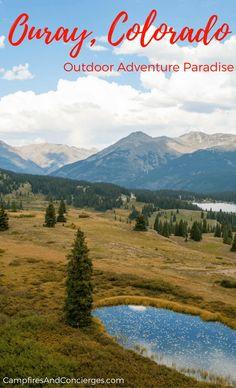 Ouray Colorado, USA San Juan Mountains Black Canyon National Park #ouray #colorado #outdooradventure