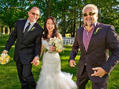 """The Wedding Planner: Robert Irvine Says """"I Do"""" : With Guy Fieri by their side, Robert and his new bride, Gail Kim, are ready to celebrate."""