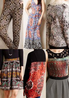 Retail Snapshot   Anthropologie AW 14 print pattern
