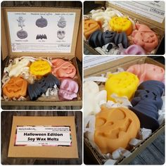 Halloween Ghoulish Soy Wax Melts Highly Scented Wax Melts