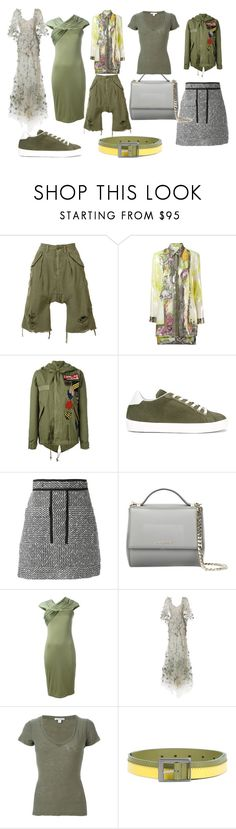"""""""great fashion"""" by monica022 ❤ liked on Polyvore featuring R13, Versace, Mr & Mrs Italy, LEATHER CROWN, Carven, Givenchy, Marchesa, James Perse, Issey Miyake and vintage"""