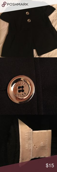Michael Kors S/S Jacket Michael Kors S/S Jacket with Silver Buttons MICHAEL Michael Kors Jackets & Coats