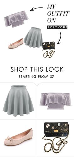 """sport chic"" by kata-723 on Polyvore featuring moda, River Island, Kate Spade y Chanel"