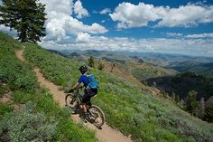 Sun Valley Mountain biking