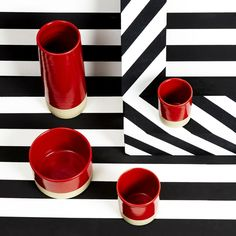 Vases by Les Guimards / Art Direction and set by Darkroom / Photography by Karl Donovan