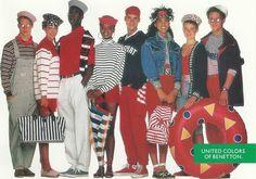 Výsledek obrázku pro benetton in the 90's
