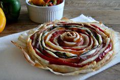ricetta torta spirale di peperoni| Dolce e Salato di Miky
