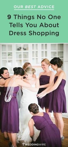 Our best advice before you go bridal dress shopping! Follow @WeddingWire for more wedding tips.