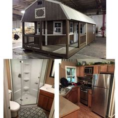 50 Modern Tiny House Interior Design That Will Sho Tiny Houses Plans With Loft, House Plan With Loft, Shed House Plans, Shed To Tiny House, Tiny House Blog, Tiny House Storage, Modern Tiny House, Tiny House Living, Shed Cabin