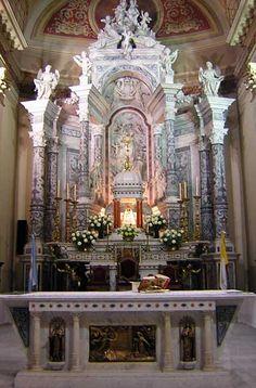 Catedral de Rosario - Rosario, Santa Fe. Cathedral Basilica, Cathedral Church, Sacred Architecture, Church Architecture, Christian World, Christian Church, Catholic Altar, Church Interior, Place Of Worship