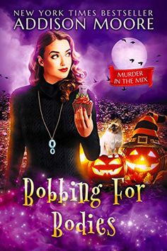 ** Read as part of the Murder in the Mix Boxed Set. ** Bobbing for Bodies is book two in the Murder in the Mix series by Addison Moore. It's the grand opening of Lottie Lemon's bakery, she's… Mystery Genre, Mystery Novels, Mystery Thriller, Book Club Books, New Books, Addison Moore, The Body Book, Free Books To Read, Halloween Books