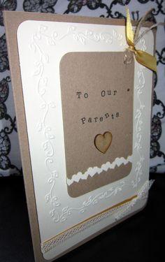 Thankyou Parents Card