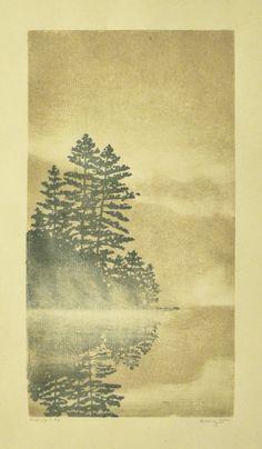 Monoprint by Andrea Starkey