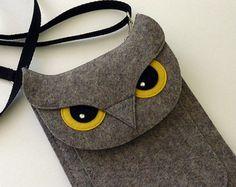 Owl Fire tablet case for Fire HD 6 HD 8 HD 10 Felt by BoutiqueID