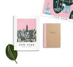 NY Travel Guide By Sara Enriquez Via Cosas Visuales Nyc