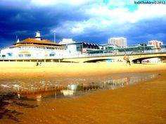 a puddle isn't filled with tears, it's filled with promises left to bleed..    (Bournemouth beach)