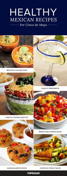 "Say, ""Olé"": 20 Healthy Mexican Recipes For Cinco de Mayo #cincodemayo #healthyeats #recipes #mexicanfood"