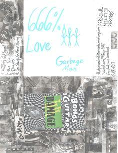"""Garbage Man """"666% Love"""" CD"""
