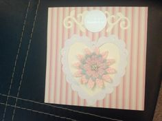 'Heart of Gold' Handmade birthday card £2.20