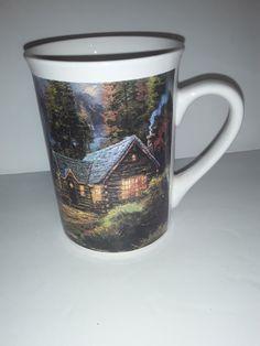 Vintage Coffee Cups, Thomas Kinkade, Coffee Mugs, Etsy Shop, Future, Tableware, Future Tense, Dinnerware, Coffee Cups