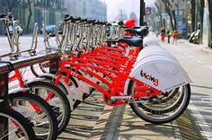 Citybikes, Barcelone (Espagne)