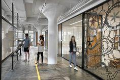 Etsy Office by Gensler, New York City » Retail Design Blog #glass #window
