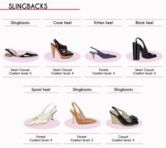 The Complete Style Guide to Women's Shoes (14 of 15): Slingbacks Via