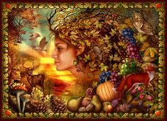 Spirit Of Autumn Digital Art  - Spirit Of Autumn Fine Art Print